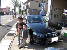 バンズプラスのブログ-アウディ納車